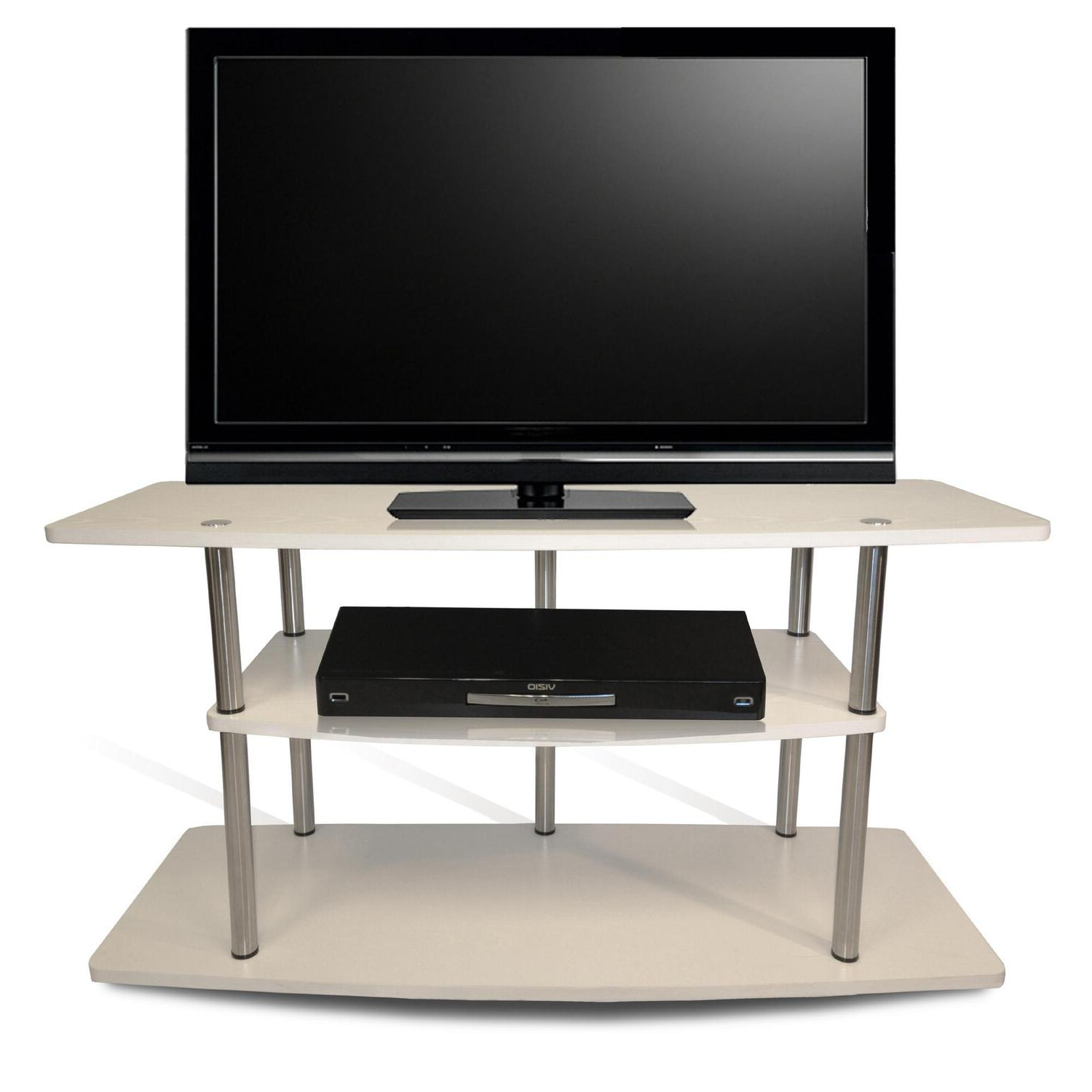 Most Recently Released Designs2go™ 3 Tier Wide Tv Stand – $ (View 19 of 25)