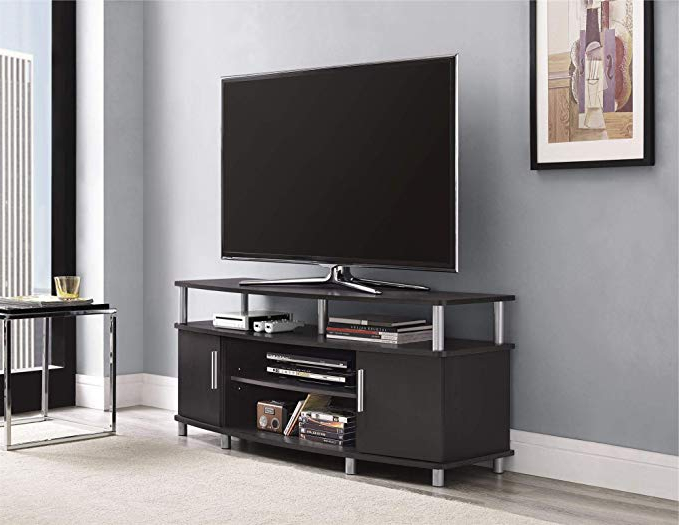 """Most Recently Released Indi Wide Tv Stands Pertaining To Ameriwood Home Carson Tv Stand For Tvs Up To 50"""" Wide (View 24 of 25)"""