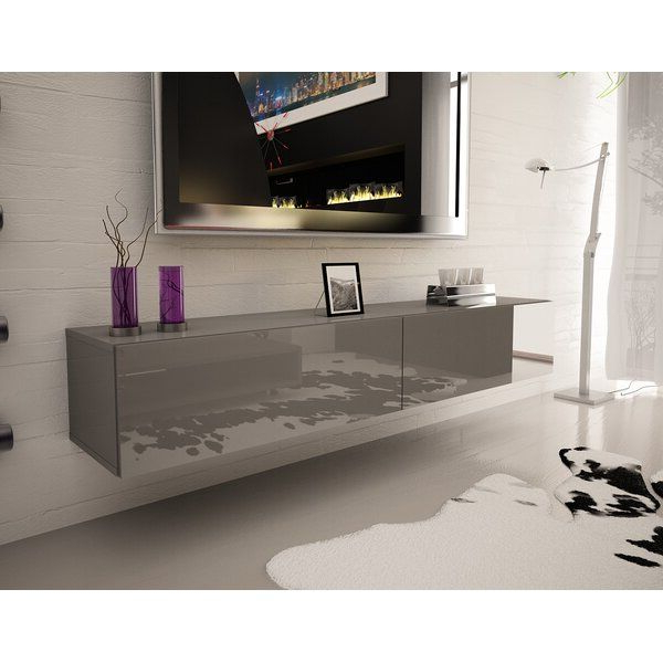 """Most Recently Released Patty Floating Tv Stand For Tvs Up To 85"""" & Reviews With Bustillos Tv Stands For Tvs Up To 85"""" (View 23 of 25)"""