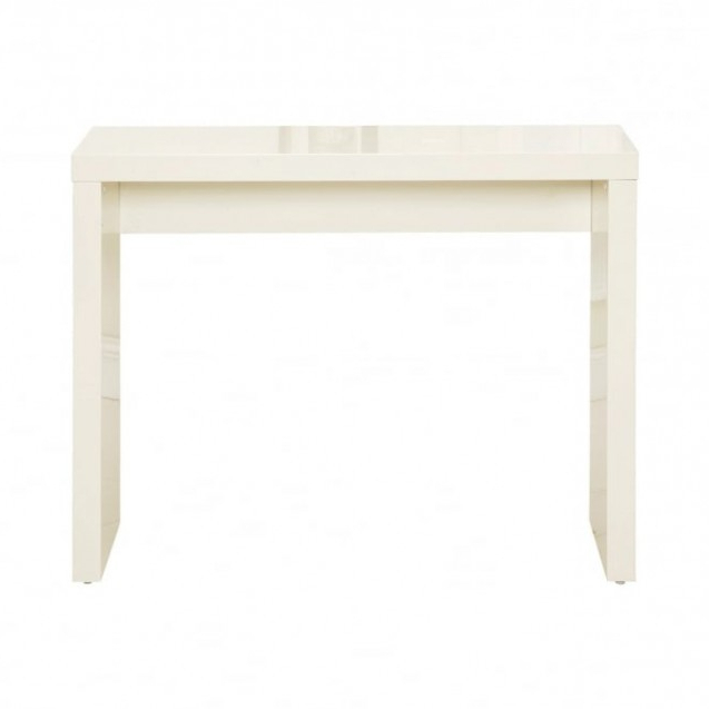 Most Recently Released Puro High Gloss Cream Console Table With Regard To Puro White Tv Stands (View 8 of 10)