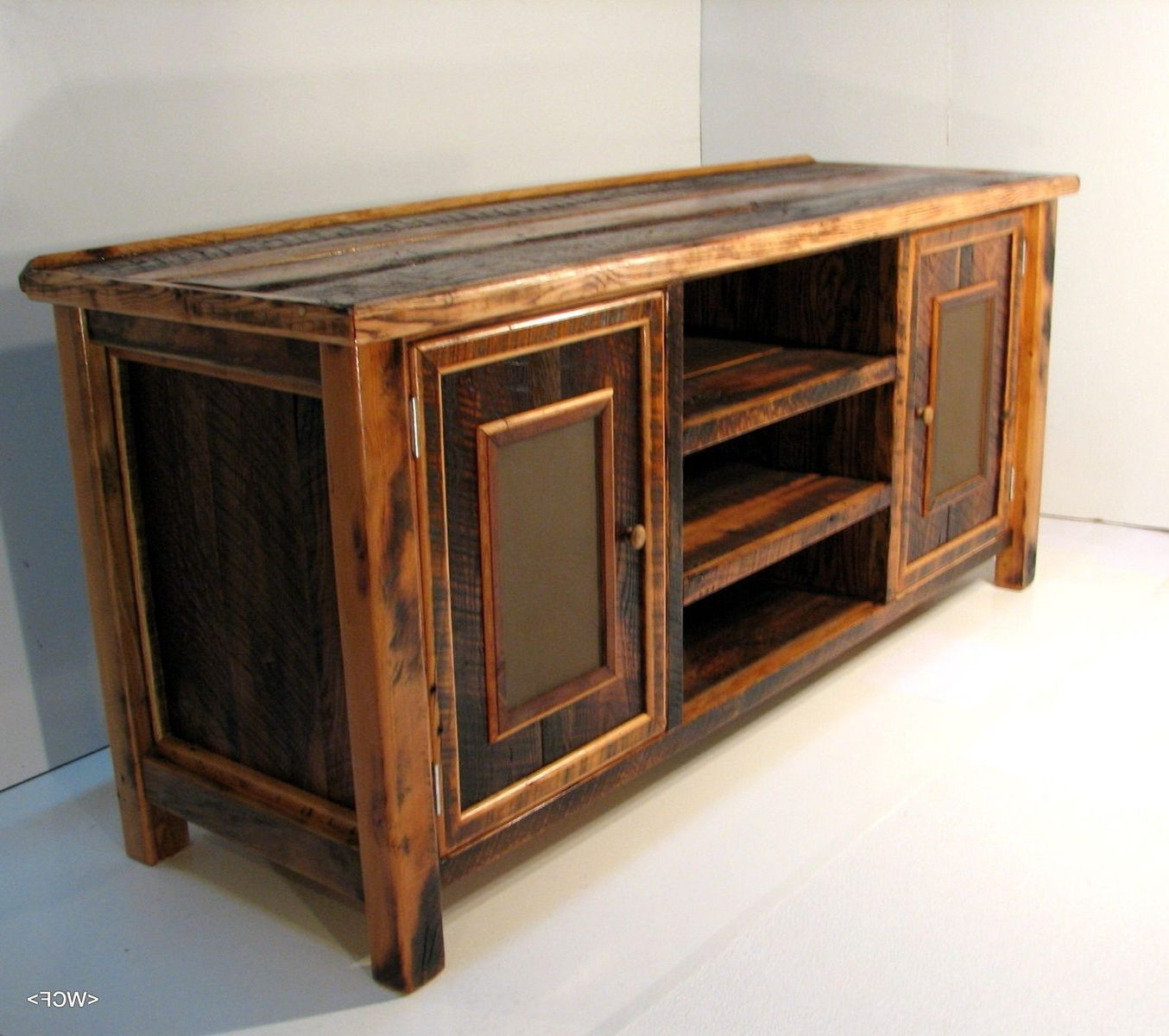 Most Recently Released Reclaimed Barn Wood Tv Stand (View 4 of 10)