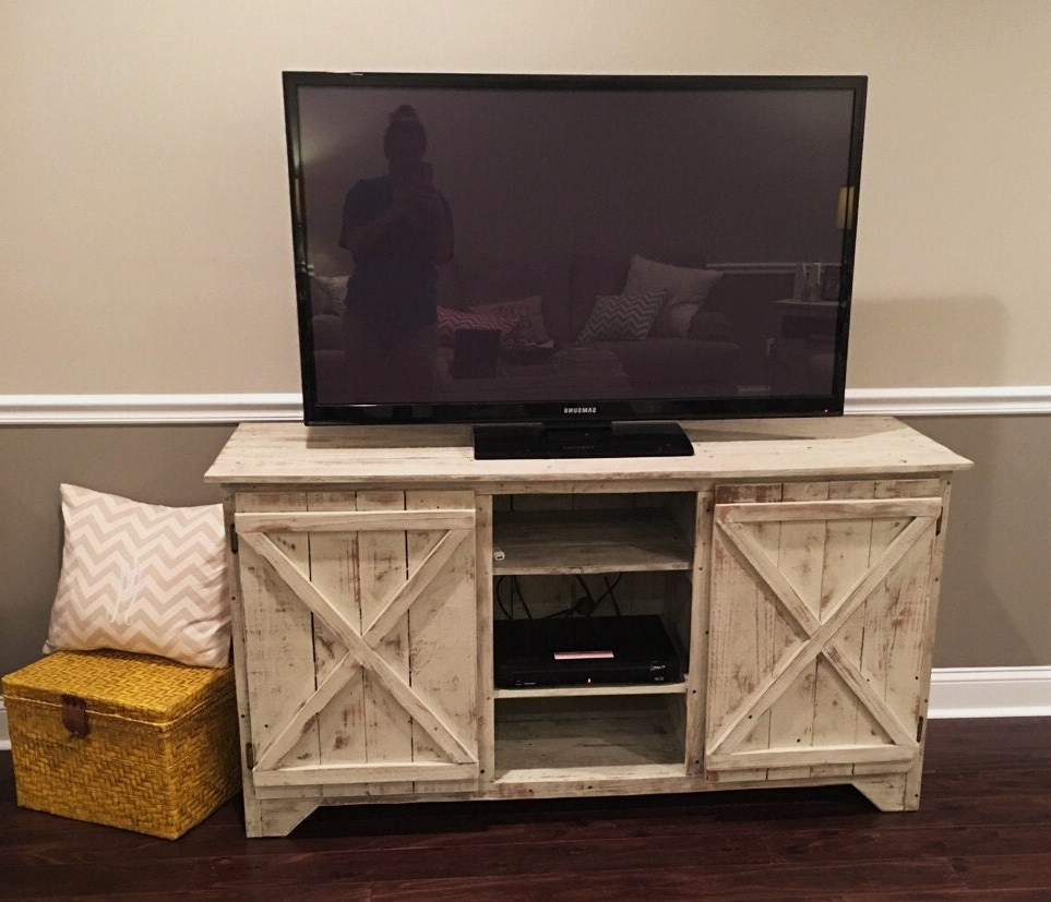 Most Recently Released Reclaimed Wood Media Console/entertainment Center/tv Regarding Entertainment Center Tv Stands Reclaimed Barnwood (View 3 of 10)