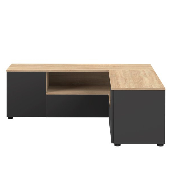 """Most Recently Released Sherbourne Oak Corner Tv Stands Intended For 17 Stories Sherbourne Tv Stand For Tvs Up To 55"""" (View 6 of 10)"""