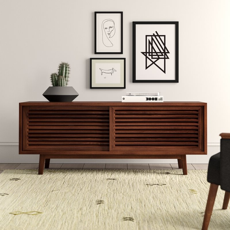 """Most Recently Released Vitale Solid Wood Tv Stand For Tvs Up To 70 Inches Regarding Paulina Tv Stands For Tvs Up To 32"""" (View 16 of 25)"""