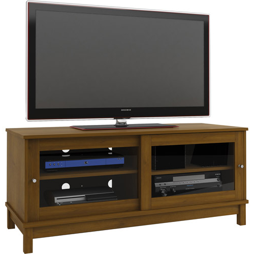"""Most Up To Date 55"""" Tv Stand Entertainment Center Media Room Furniture In Mainstays 4 Cube Tv Stands In Multiple Finishes (View 9 of 10)"""