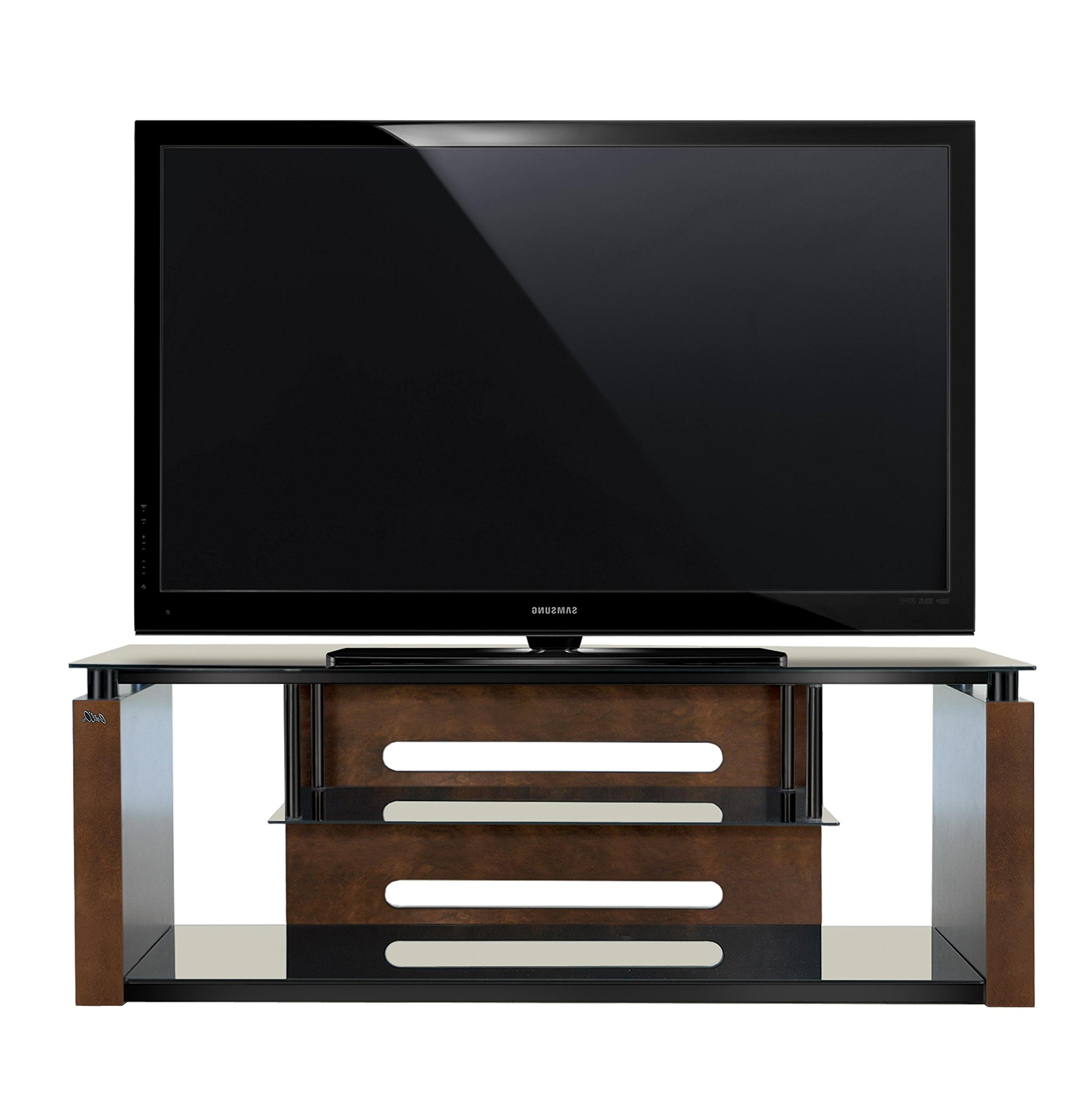 """Most Up To Date Bell'o Avsc2155 60"""" Tv Stand For Tvs Up To 65"""", Espresso Regarding Whalen Furniture Black Tv Stands For 65"""" Flat Panel Tvs With Tempered Glass Shelves (View 5 of 10)"""