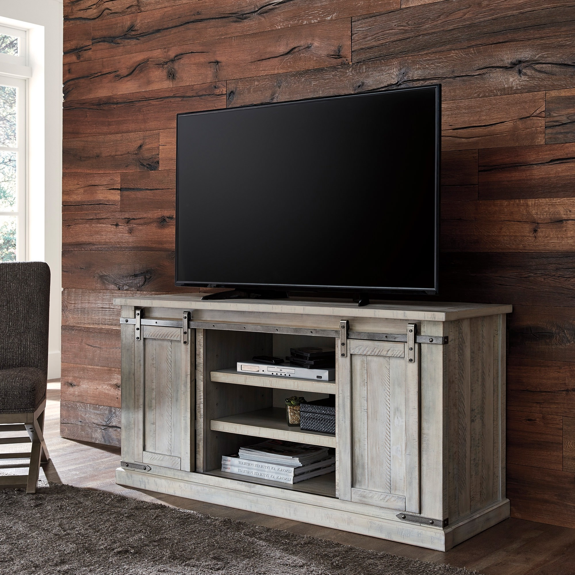 """Most Up To Date Carynhurst Large 60 Inch Tv Stand – Bernie & Phyl's Pertaining To Margulies Tv Stands For Tvs Up To 60"""" (View 23 of 25)"""