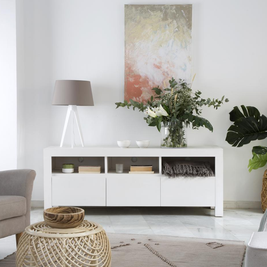 Most Up To Date Liland Ivory White Tv Stand (View 24 of 25)