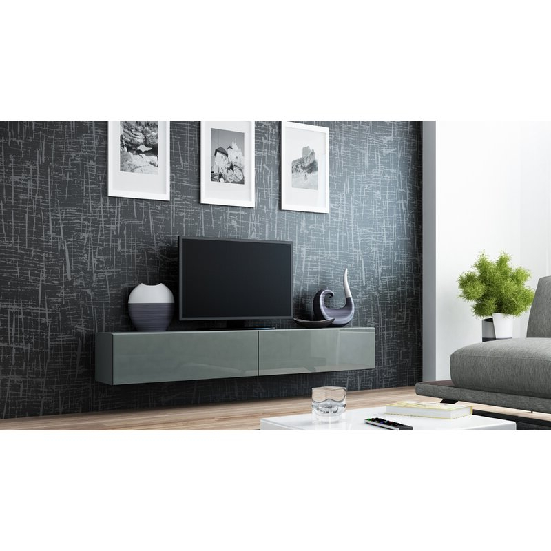 """Most Up To Date Orren Ellis Lesterny Floating Tv Stand For Tvs Up To 88 With Regard To Gosnold Tv Stands For Tvs Up To 88"""" (View 13 of 25)"""