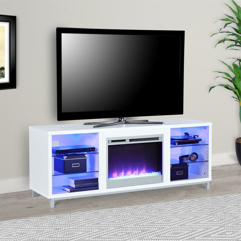 """Most Up To Date Wade Logan Hetton Tv Stand For Tvs Up To 70"""" With Pertaining To Kinsella Tv Stands For Tvs Up To 70"""" (View 18 of 25)"""