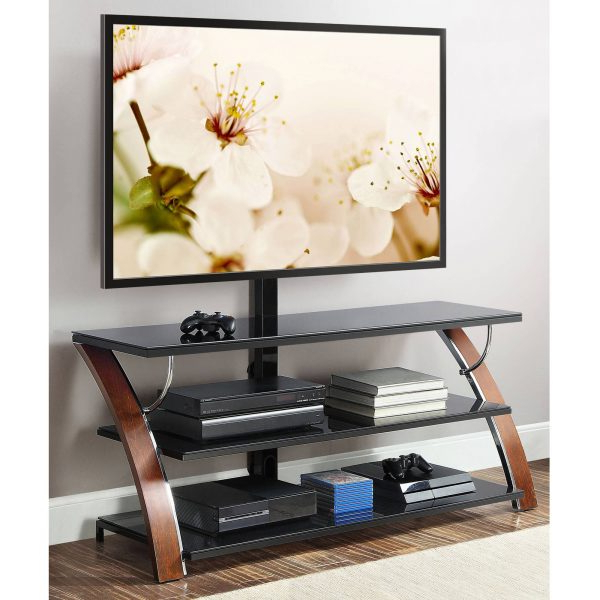 """Most Up To Date Whalen Payton 3 In 1 Flat Panel Tv Stand For Tvs Up To 65″ Pertaining To Wolla Tv Stands For Tvs Up To 65"""" (View 16 of 25)"""