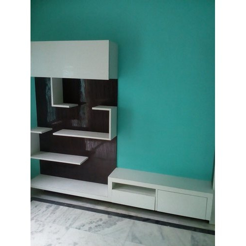 Most Up To Date White Wall Mounted Wall Mount Tv Cabinet, Rs 1500 /square Within Priya Tv Stands (View 3 of 5)