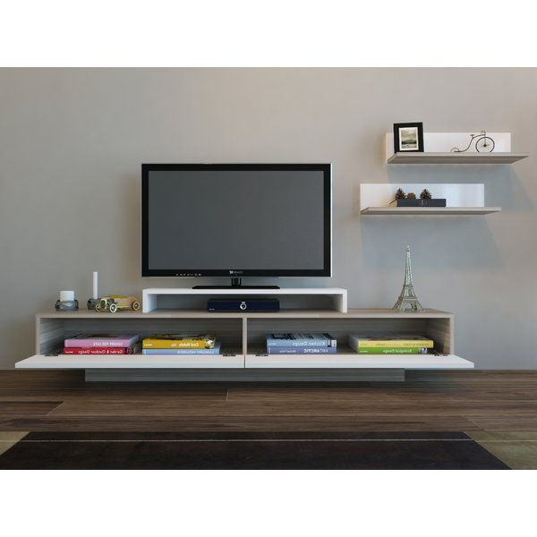 """Muebles Para Tv Pertaining To 2018 Chrissy Tv Stands For Tvs Up To 75"""" (View 20 of 25)"""