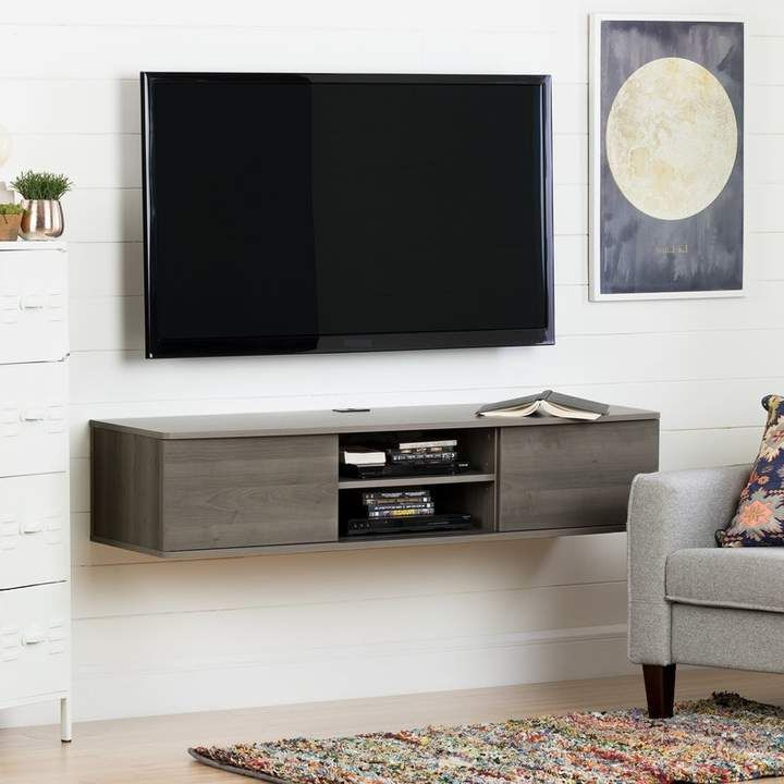 """Newest Agora Floating Tv Stand For Tvs Up To 65"""" (View 3 of 10)"""