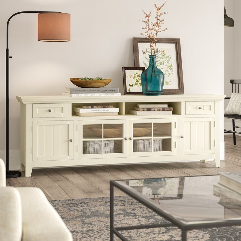 """Newest Birch Lane™ Heritage Yates Tv Stand For Tvs Up To 88 With Ailiana Tv Stands For Tvs Up To 88"""" (View 20 of 25)"""