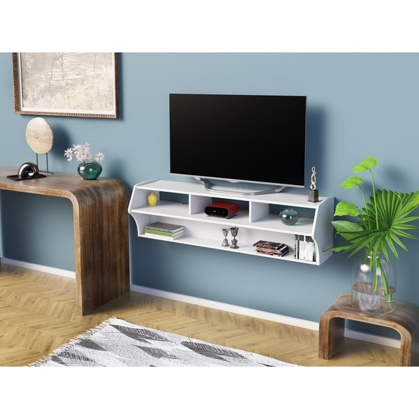 """Newest Prepac Altus Plus 58"""" Floating Tv Stand – 58.25"""" W X  (View 14 of 25)"""