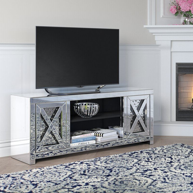 """Newest Rosdorf Park Aaru Tv Stand For Tvs Up To 65"""" & Reviews Pertaining To Betton Tv Stands For Tvs Up To 65"""" (View 6 of 25)"""