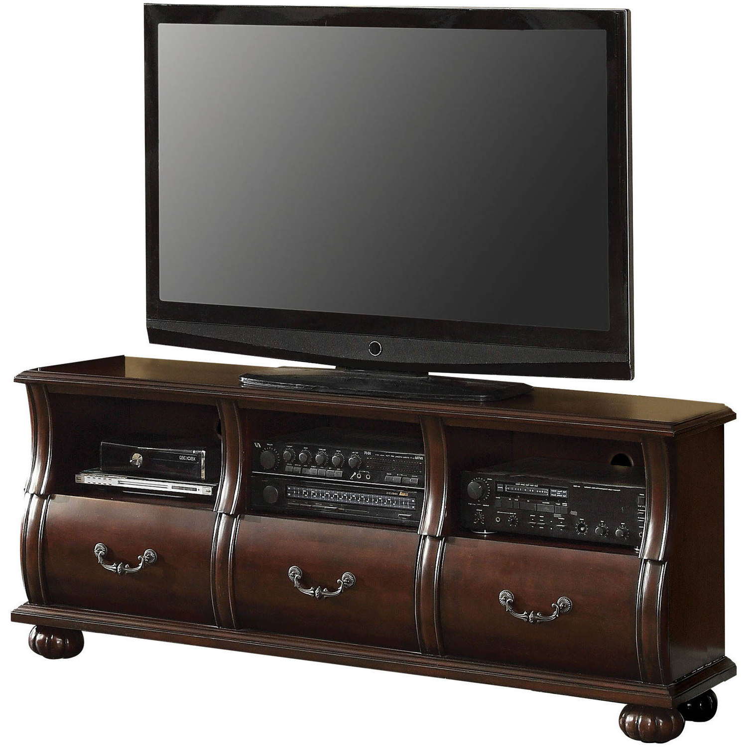 """Newest Spellman Tv Stands For Tvs Up To 55"""" Pertaining To Acme Faysnow Dark Cherry Tv Stand For Flat Screen Tvs Up (View 17 of 25)"""