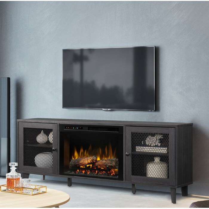 """Newest Towe Tv Stand For Tvs Up To 75"""" With Fireplace In 2020 Inside Chrissy Tv Stands For Tvs Up To 75"""" (View 18 of 25)"""