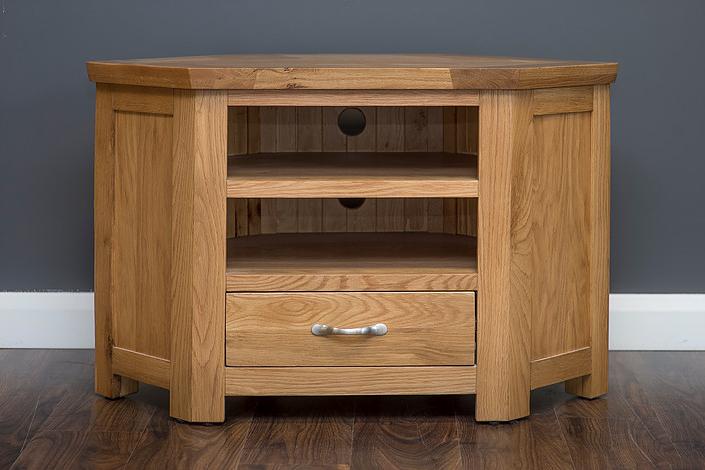 Newest Tv Units & Corner Units : Newry Furniture Centre For Inside Sherbourne Oak Corner Tv Stands (View 4 of 10)