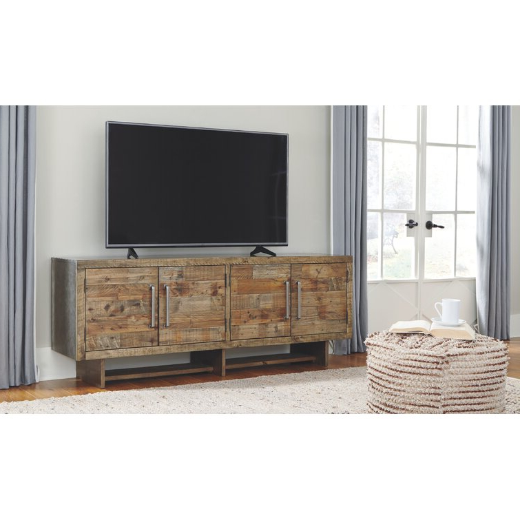 """Newest Union Rustic Mcdonough Tv Stand For Tvs Up To 85 Within Bustillos Tv Stands For Tvs Up To 85"""" (View 11 of 25)"""