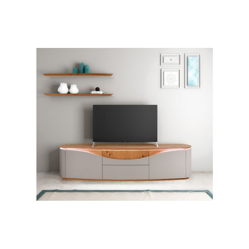 Nisa – Luxury Bespoke Tv Unit With Optional Lighting – Tv Pertaining To Most Recently Released Casablanca Tv Stands (View 3 of 10)