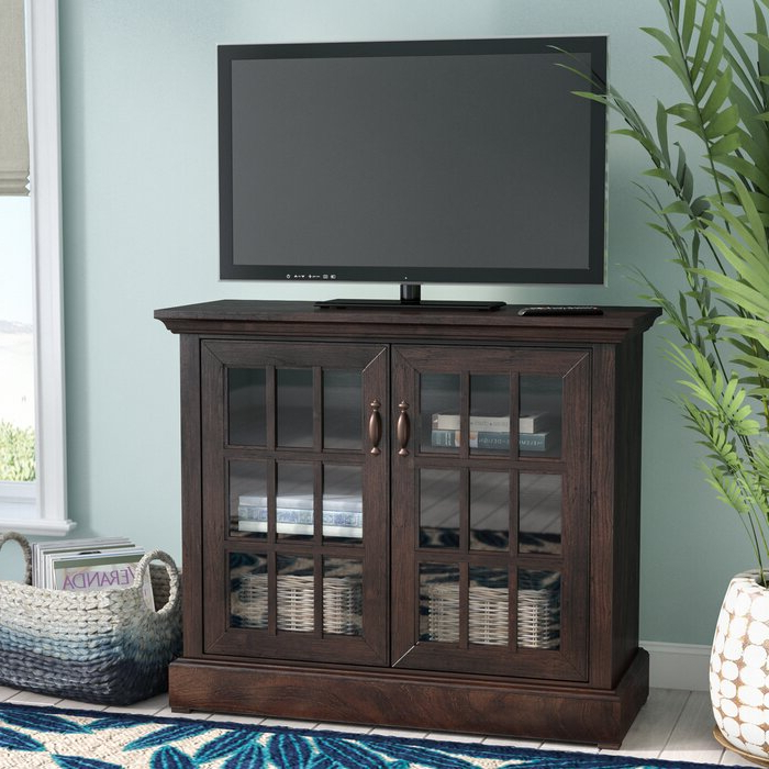 """Oglethorpe Tv Stands For Tvs Up To 49"""" For 2017 Canora Grey Shreyas Solid Wood Tv Stand For Tvs Up To  (View 2 of 25)"""