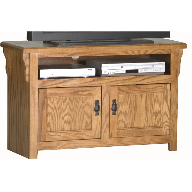 """Oglethorpe Tv Stands For Tvs Up To 49"""" For Famous Millwood Pines Phelan Solid Wood Tv Stand For Tvs Up To  (View 9 of 25)"""