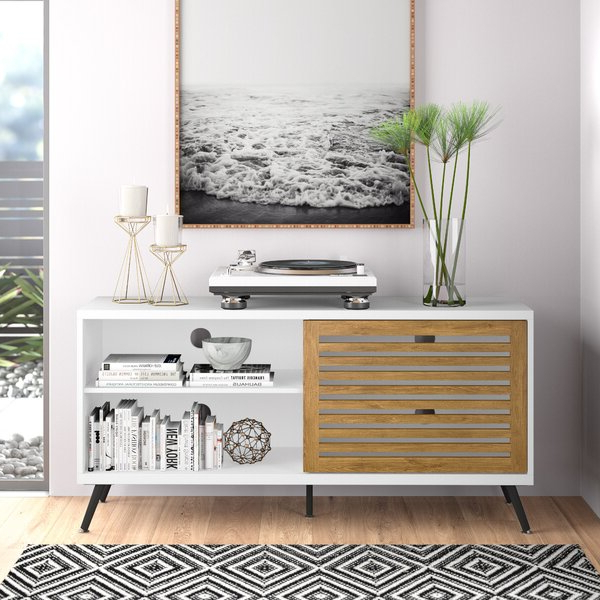 """Olinda Tv Stands For Tvs Up To 65"""" Throughout Favorite Berna Tv Stand For Tvs Up To 65"""" & Reviews (View 22 of 25)"""
