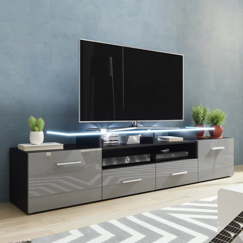 """Orren Ellis Casares Tv Stand For Tvs Up To 70"""" & Reviews Regarding Preferred Lorraine Tv Stands For Tvs Up To 70"""" (View 19 of 25)"""