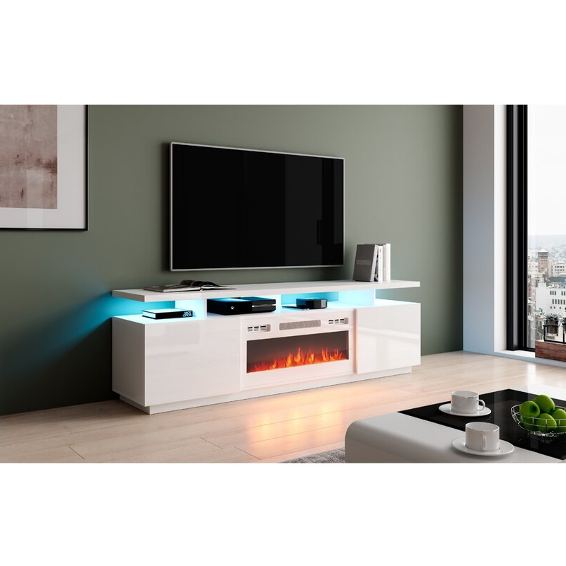 """Orren Ellis Eva K Tv Stands Tv Stand For Tvs Up To 78 Throughout Most Recently Released Ansel Tv Stands For Tvs Up To 78"""" (View 22 of 25)"""