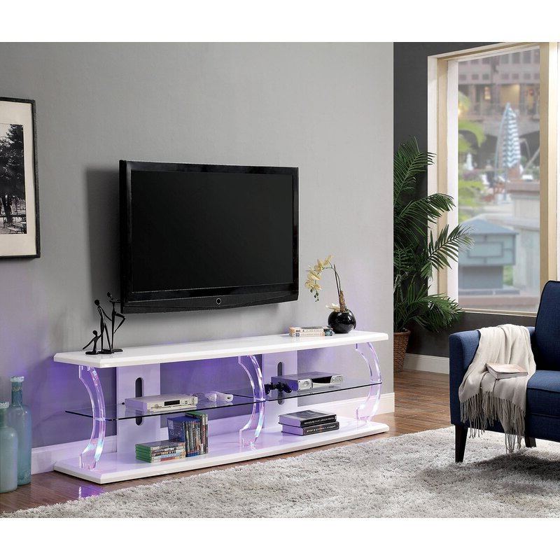 """Orren Ellis Mikhail Tv Stand For Tvs Up To 85"""" (View 7 of 25)"""