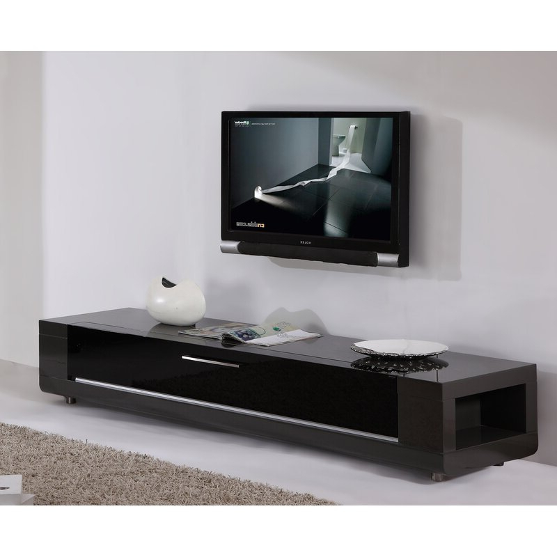"""Orren Ellis Yoder Tv Stand For Tvs Up To 88"""" & Reviews Regarding Trendy Ailiana Tv Stands For Tvs Up To 88"""" (View 2 of 25)"""