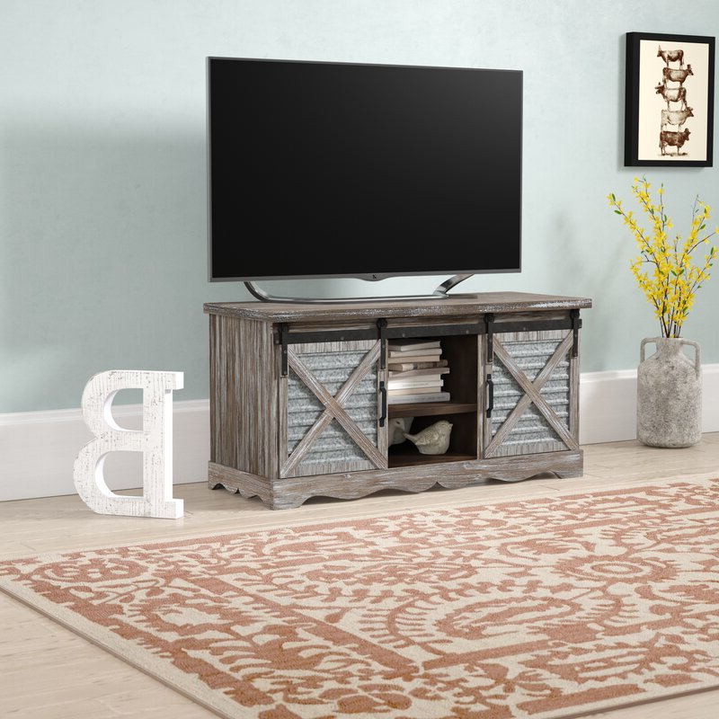 """Orrville Tv Stands For Tvs Up To 43"""" Intended For Most Current Gracie Oaks Tifany Tv Stand For Tvs Up To 43"""" & Reviews (View 4 of 25)"""