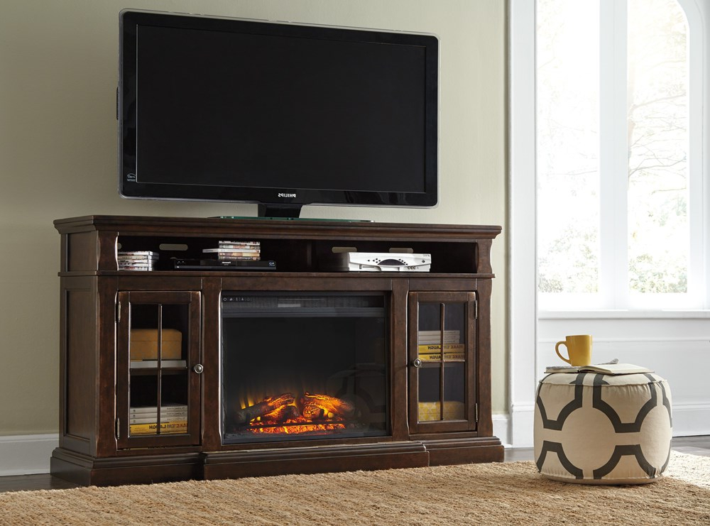 Orsen Wide Tv Stands Pertaining To Most Recently Released Signature Designashley – Roddinton Xl Tv Stand – W701  (View 19 of 25)