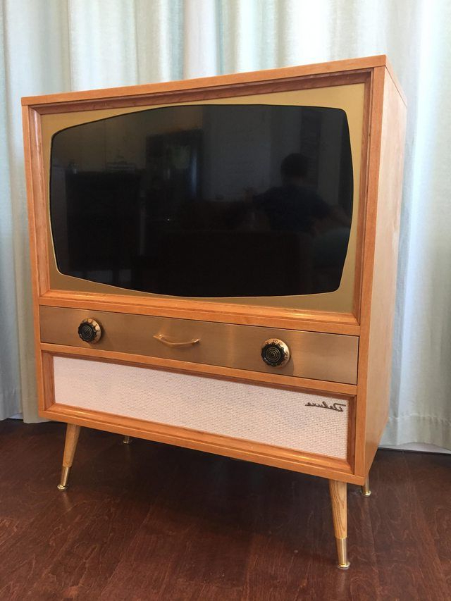 Owen Retro Tv Unit Stands With Favorite I Built A Mcm Television Cabinet For A Flatscreen Tv (View 19 of 25)