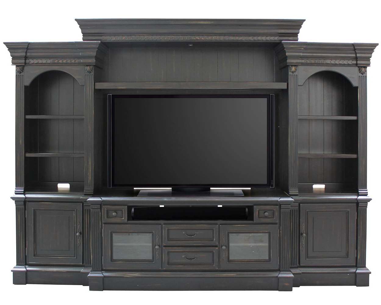 """Parker House Entertainment Center 65"""" Tv Stand Fairbanks For Latest Entertainment Center Tv Stands Reclaimed Barnwood (View 6 of 10)"""