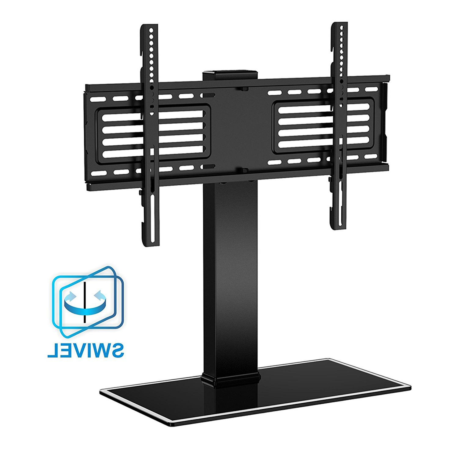 """Paulina Tv Stands For Tvs Up To 32"""" For Current Fitueyes Height Adjustment Universal Tabletop Swivel Tv (View 3 of 25)"""