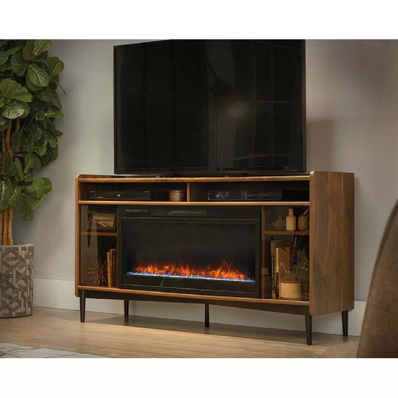 """Permenter Tv Stand For Tvs Up To 60"""" With Fireplace Throughout Most Recent Lorraine Tv Stands For Tvs Up To 60"""" With Fireplace Included (View 14 of 25)"""