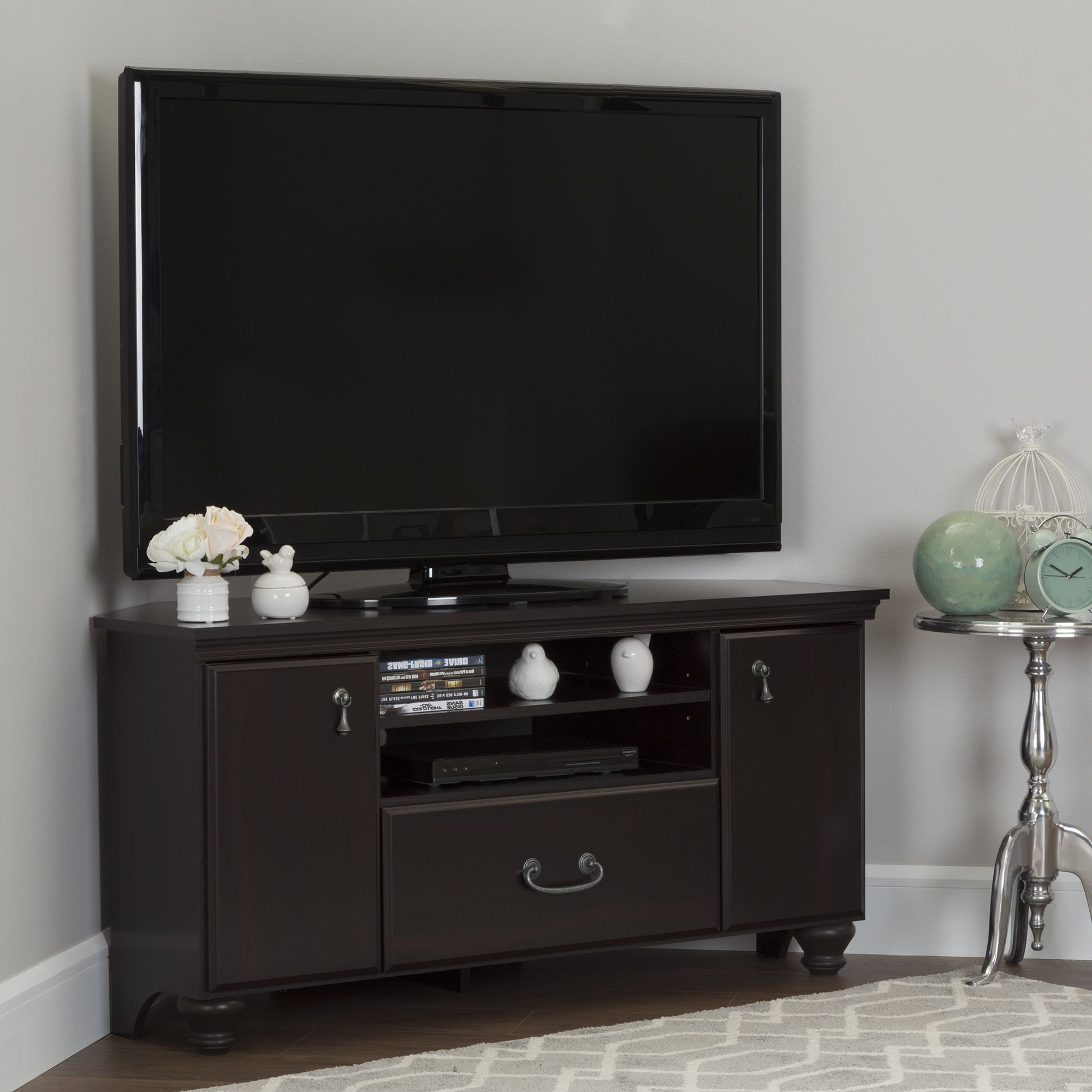 Pin On Home With Regard To Most Popular Woven Paths Transitional Corner Tv Stands With Multiple Finishes (View 3 of 10)