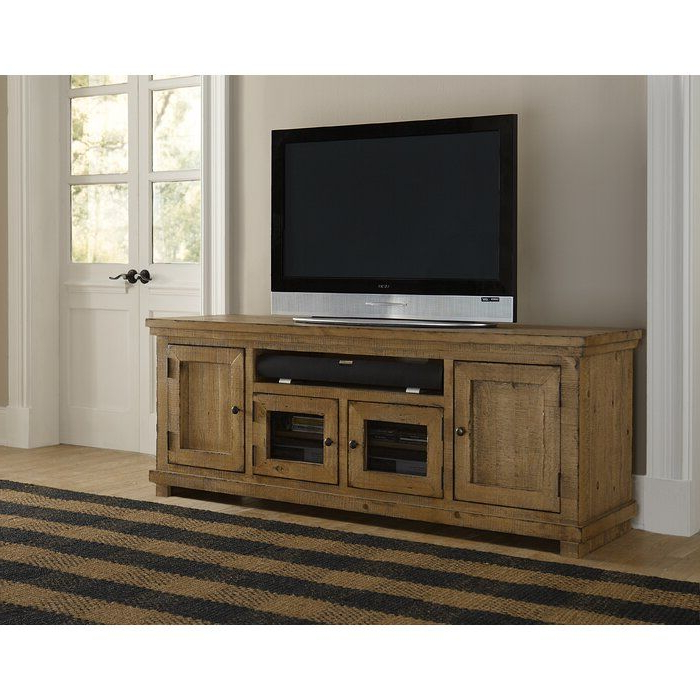 """Pineland Tv Stand For Tvs Up To 78"""" In 2020 In Fashionable Grandstaff Tv Stands For Tvs Up To 78"""" (View 10 of 25)"""