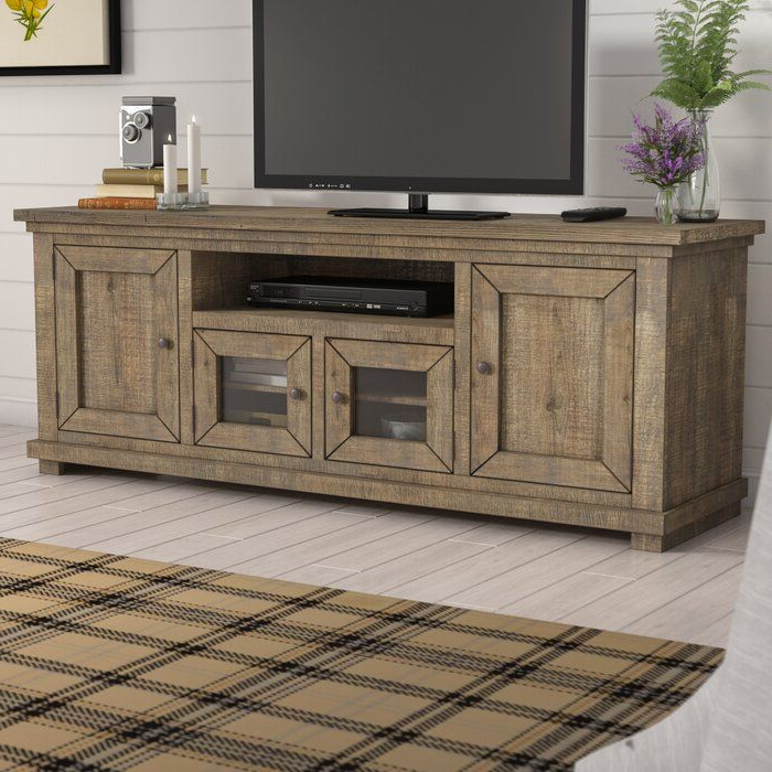 """Pineland Tv Stand For Tvs Up To 78"""" (View 18 of 25)"""