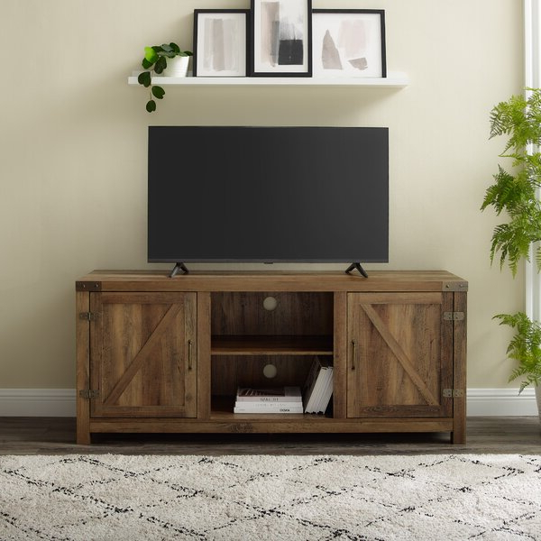 """Popular Adalberto Tv Stands For Tvs Up To 78"""" Pertaining To Trent Austin Design® Adalberto Tv Stand For Tvs Up To  (View 2 of 25)"""