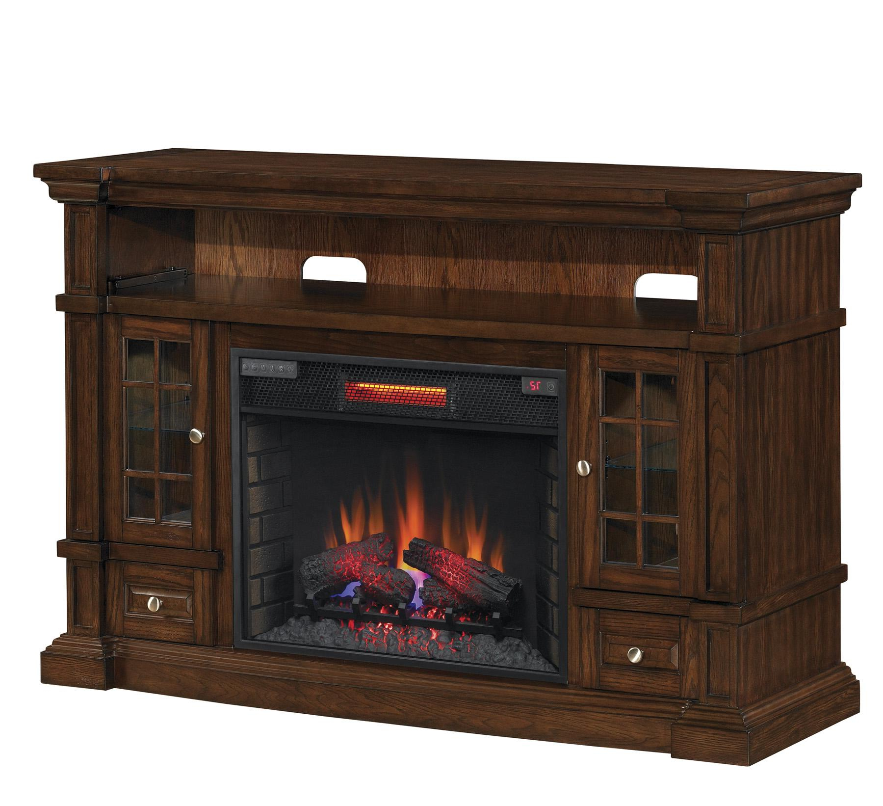 """Popular Amazon: Classicflame Belmont Tv Stand For Tvs Up To 65 Regarding Casey May Tv Stands For Tvs Up To 70"""" (View 1 of 25)"""