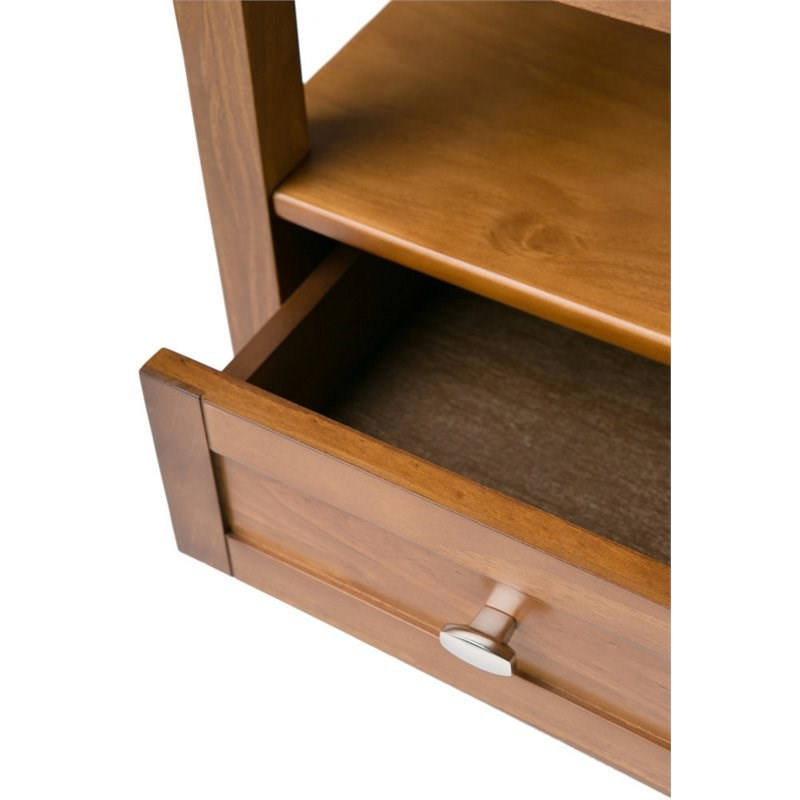 Popular Better Homes & Gardens Herringbone Tv Stands With Multiple Finishes For Simpli Home Warm Shaker Solid Wood Wide End Table With (View 4 of 10)