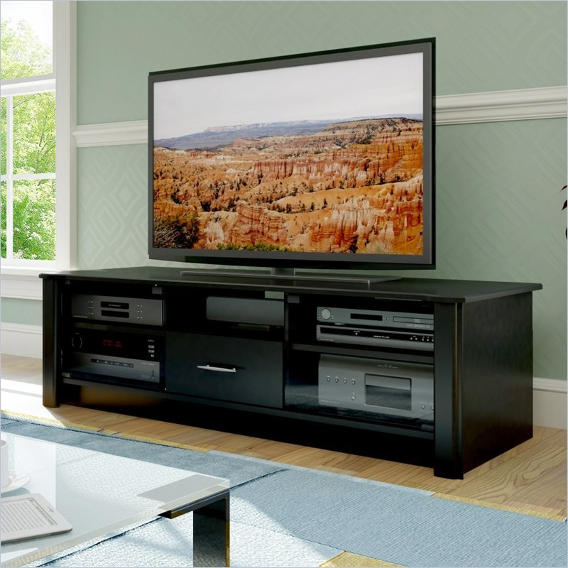 Popular Bromley Black Wide Tv Stands With Sonax Bromley Versatile Storage Tv Stand For 48 68 Inch (View 9 of 10)