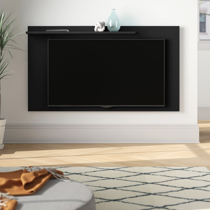 """Popular Foundstone™ Hayward Floating Entertainment Center For Tvs Inside Aaliyah Floating Tv Stands For Tvs Up To 50"""" (View 15 of 25)"""