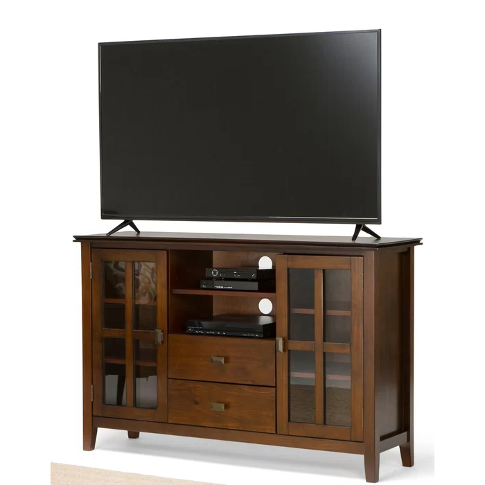 """Popular Giltner Solid Wood Tv Stands For Tvs Up To 65"""" Within Gosport Solid Wood Tv Stand For Tvs Up To 65"""" In  (View 1 of 25)"""