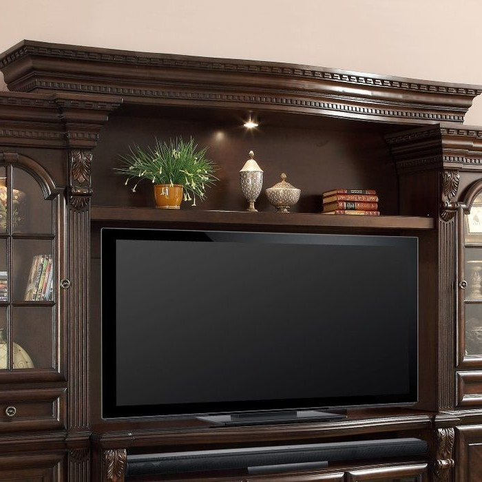 """Popular Miconia Solid Wood Tv Stands For Tvs Up To 70"""" In Friedlander Solid Wood Entertainment Center For Tvs Up To (View 14 of 25)"""