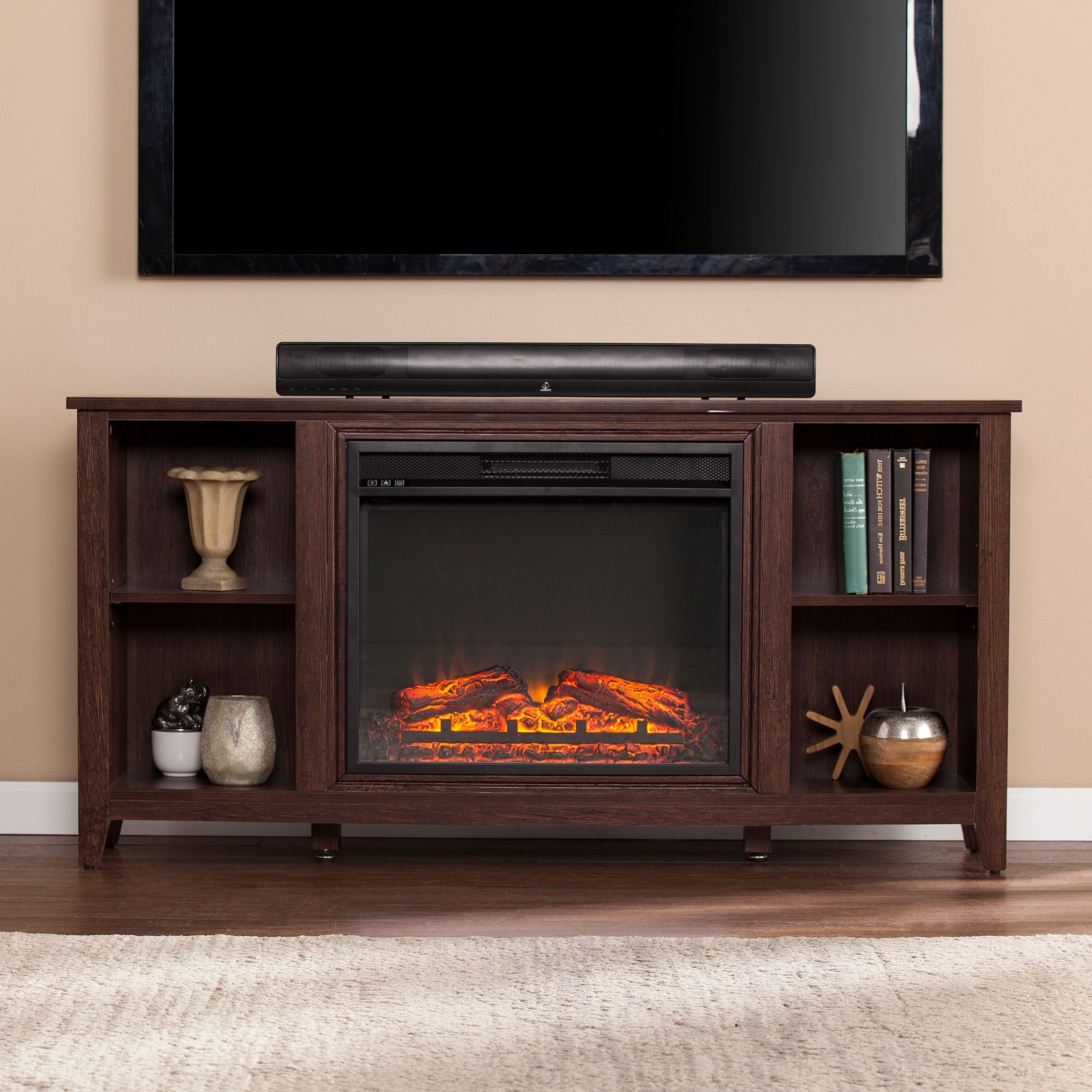 """Popular Paxifyre Electric Fireplace Tv Stand, For Tv's Up To 50 For Mclelland Tv Stands For Tvs Up To 50"""" (View 10 of 25)"""